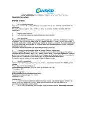 Mebus (Ø x D) 35 cm x 5 cm Black 52660 Data Sheet