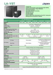 Lapara LA-VST-650 Leaflet