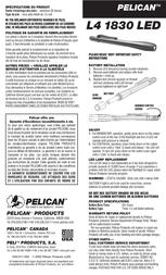 Pelican L4 1830 1830-010-245 Leaflet