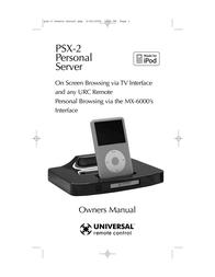 Universal PSX-2 User Manual