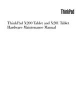 Lenovo Thinkpad X200 User Guide Page 1 Of 260 Manualsbrain Com