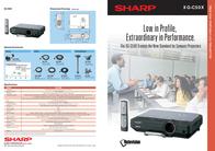 Sharp XG-C50X XG-C50XE Leaflet