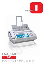 Olivetti Fax_Lab 460 DECB9401004 User Manual
