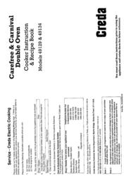 Creda 49134 User Manual