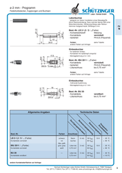 Schuetzinger Jack socket Socket, vertical vertical Pin diameter: 2 mm Red Schützinger IBU 2011 / RT 1 pc(s) IBU 2011 / RT Data Sheet