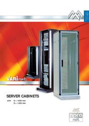 Apranet VARIrack Server Cabinet Cabinet 1200 mm 31-6900-49 User Manual