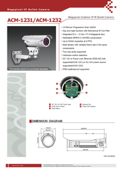 ACTi ACM-1231 Leaflet