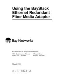 Bay Technical Associates BayStack Fiber Media Adapter User Manual
