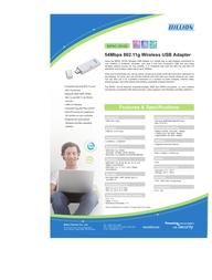 Billion BiPAC 3012G BIPAC 3012G Leaflet