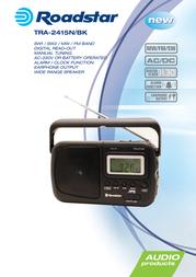 Roadstar TRA-2415N/BK Leaflet
