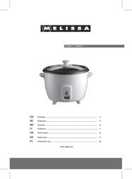 Melissa 16280011 User Manual