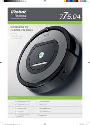 iRobot Roomba 775 820005 Leaflet