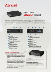 Atrust m320 M320 Prospecto