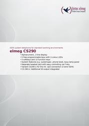 Teldat CS290 1090950 User Manual