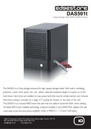 Edge10 5TB DAS501t 31742 Leaflet
