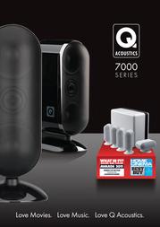 Q Acoustics Q 7000 Q7000WH User Manual
