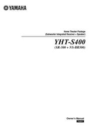 Yamaha YHT-S400 User Guide