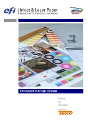 EFI Gravure Proof 4245 SemiMatt 6098330483 User Manual