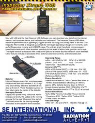 S.E. International Inspector Xtreme USB B00EZBOVKA Merkblatt