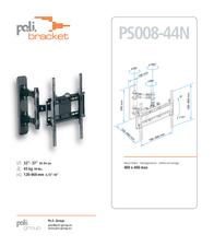 Poli Bracket W084 Leaflet