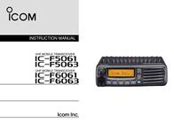 ICOM IF5061 User Manual