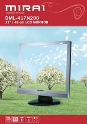 "Mirai 17"" LCD Monitor DML-417N200 Leaflet"