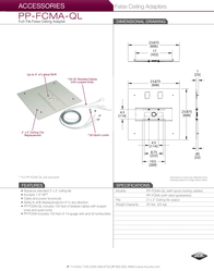 Premier PP-FCMA-QL Leaflet