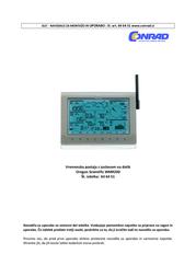 Oregon Scientific WMR200 Data Sheet