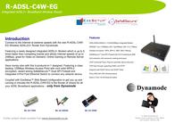Dynamode 125Mbps Wireless ADSL2+ Router Modem R-ADSL-C4W-EG Merkblatt