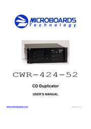 Microboards Technology CWR-424-52 User Manual