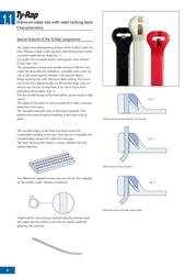 ABB (L x W) 711 mm x 7.6 mm Ty-Fast Black (UV-resistant) 50 pc(s) TY800-120X Data Sheet