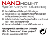 Mycrocam Holder Nano 21383 Leaflet