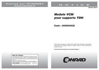 VCM Morgenthaler VCM DACHSCHRÄGEN-MODUL FÜR TDH-SERIE 17816 Leaflet