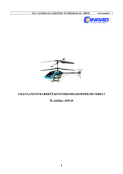 Silverlit Metal RC Toy Helicopter with Remote Control RtF (87597 SW) 87597 SW Data Sheet