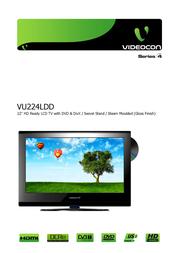 Videocon VU224LDD User Manual