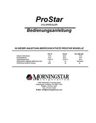 Morningstar Solar charge controller 321132 User Manual