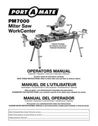 Slik Saw PM7000 User Manual