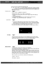 Studiologic mp-113 Guía Del Usuario