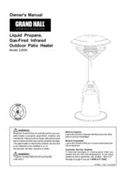 Grand Hall 22899 User Manual