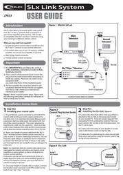 Philex SLX LINK SYSTEM 27833 Leaflet