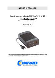 WAECO Mobitronic CoolPower EPS817 Rectifier EPS-817U User Manual