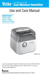Kaz V3900 User Manual