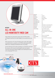 CTX M730V Leaflet