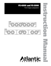 Atlantic Technology FS-4000 User Manual