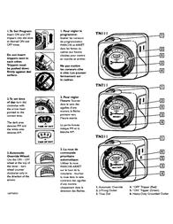 Intermatic TN111 Supplementary Manual