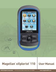 MiTAC eXplorist 110 User Manual