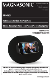 Magnasonic MiDK101 User Manual