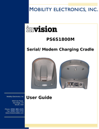 Mobility Electronics PS6S1800M User Manual