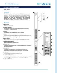 Enlogic EN1101 Data Sheet