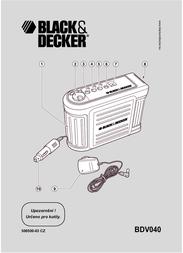 Black & Decker BDV040 Data Sheet